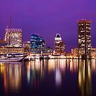 Baltimore Inner Harbor by Matthew Kocin