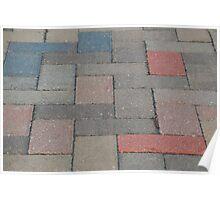 Pavement patterns 1 Poster