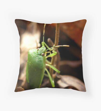 Winter Bug Throw Pillow