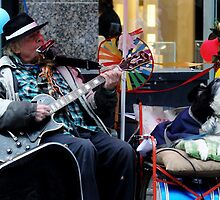 Busy busking  by indianpeteee