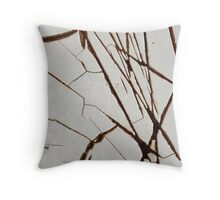 Only Slowly Throw Pillow
