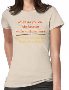 BIGOT:  LESBIAN MOM Womens Fitted T-Shirt
