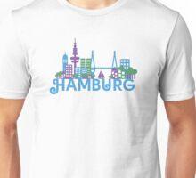 Skyline Hamburg Unisex T-Shirt