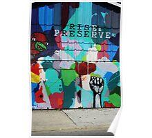 Rise & Preserve Poster