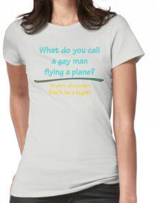 BIGOT:  GAY PILOT Womens Fitted T-Shirt