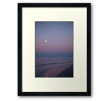 Stuck somewhere in-between the day and night Framed Print
