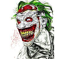 New 52 Joker DC Comic  Photographic Print
