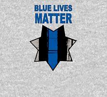 Blue Lives Matter Badge 2nd version Unisex T-Shirt