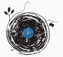 Enchanting Vinyl Record Grunge Vintage Kids Clothes