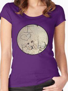 I Heart Boobies Tee Women's Fitted Scoop T-Shirt