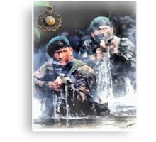 Royal Marines Commando Canvas Print