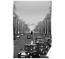 The Mall Taxi Run Poster