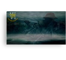 Seal Team Canvas Print