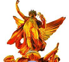 Golden Angel by Sam Halford