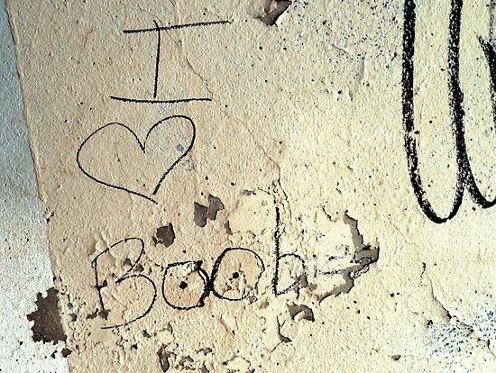 I Heart Boobies by Margaret Bryant