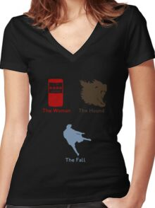 Sherlock Series 2--color Women's Fitted V-Neck T-Shirt