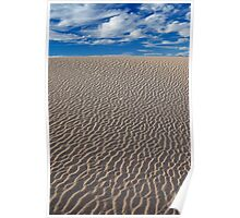 Endless Sand Dunes (Death Valley, California) Poster