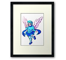 Winged Vivi Framed Print