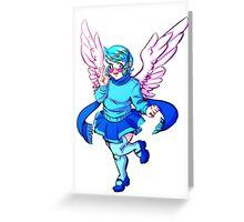 Winged Vivi Greeting Card