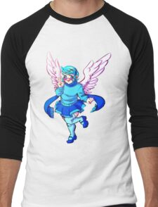 Winged Vivi Men's Baseball ¾ T-Shirt