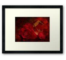 Vintage Roses Framed Print