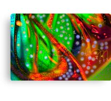 Oceanic Abstract Painting Canvas Print