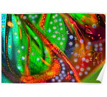 Oceanic Abstract Painting Poster