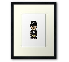 Outfit of the Day 1 - Black Cupcakes Framed Print