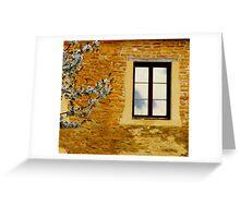 Window, Spring Greeting Card