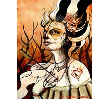 Grunge Dead Girl Photographic Print