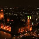 London at Night. by bared