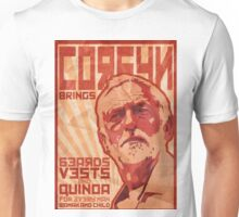 Corbyn Brings Beards, Vest and Quinoa Unisex T-Shirt
