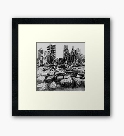 Ancient Antalya Framed Print