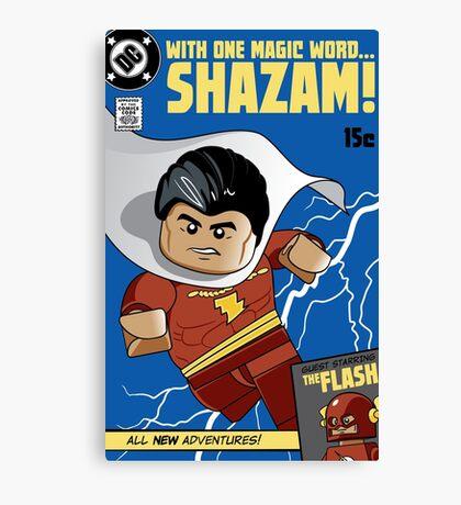 Lego Shazam! Canvas Print