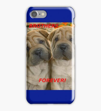Brothers Forever  iPhone Case/Skin