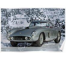 1954 Ferrari 375 MM Scaglietti Coupe Poster
