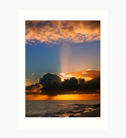 God's light Art Print