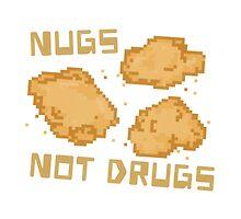 Chicken Nuggets - Nugs not Drugs Pixel Food! by SugarHit