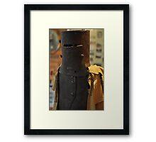 Ned Kelly Armour - Glenrowan Visitors Centre / Museum Framed Print