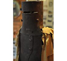 Ned Kelly Armour - Glenrowan Visitors Centre / Museum Photographic Print