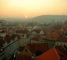 Prague Sunset by philrwesty