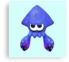 Squid - Blue/Purple Canvas Print