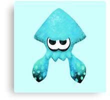 Squid - Teal Canvas Print