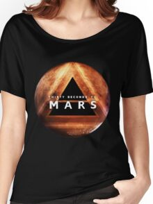 30 Seconds to Mars: Planet Design Women's Relaxed Fit T-Shirt