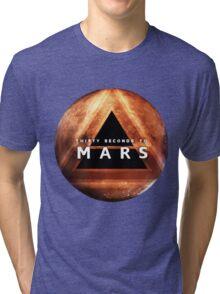30 Seconds to Mars: Planet Design Tri-blend T-Shirt