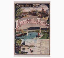 Gustave Fraipont Argenteuil Mantes affiche Chemins de fer Baby Tee