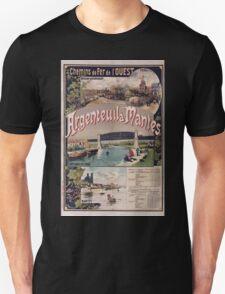 Gustave Fraipont Argenteuil Mantes affiche Chemins de fer T-Shirt