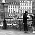 Paris - Lovelocks & Champagne. by Jean-Luc Rollier