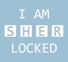 I Am SHER Locked One Piece - Short Sleeve