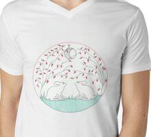 Year of the Rabbit Mens V-Neck T-Shirt
